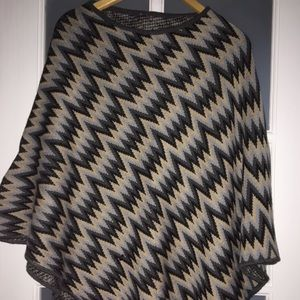 NEW Missoni Wool-Blend Poncho/Cape